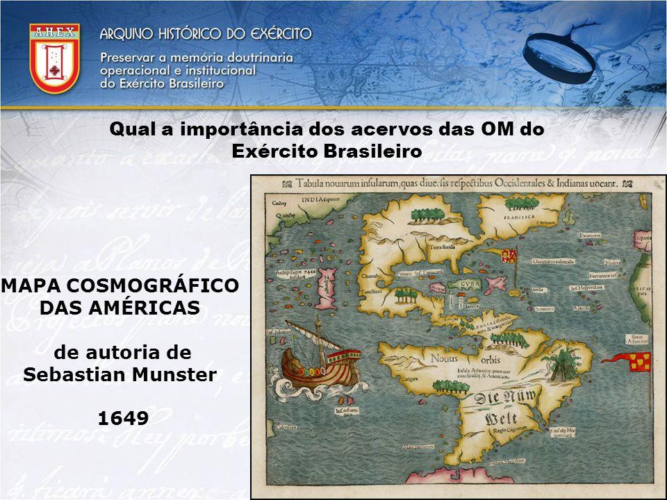 Qual a importância dos acervos das OM do Exército Brasileiro