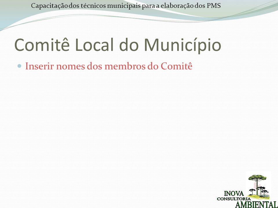 Comitê Local do Município