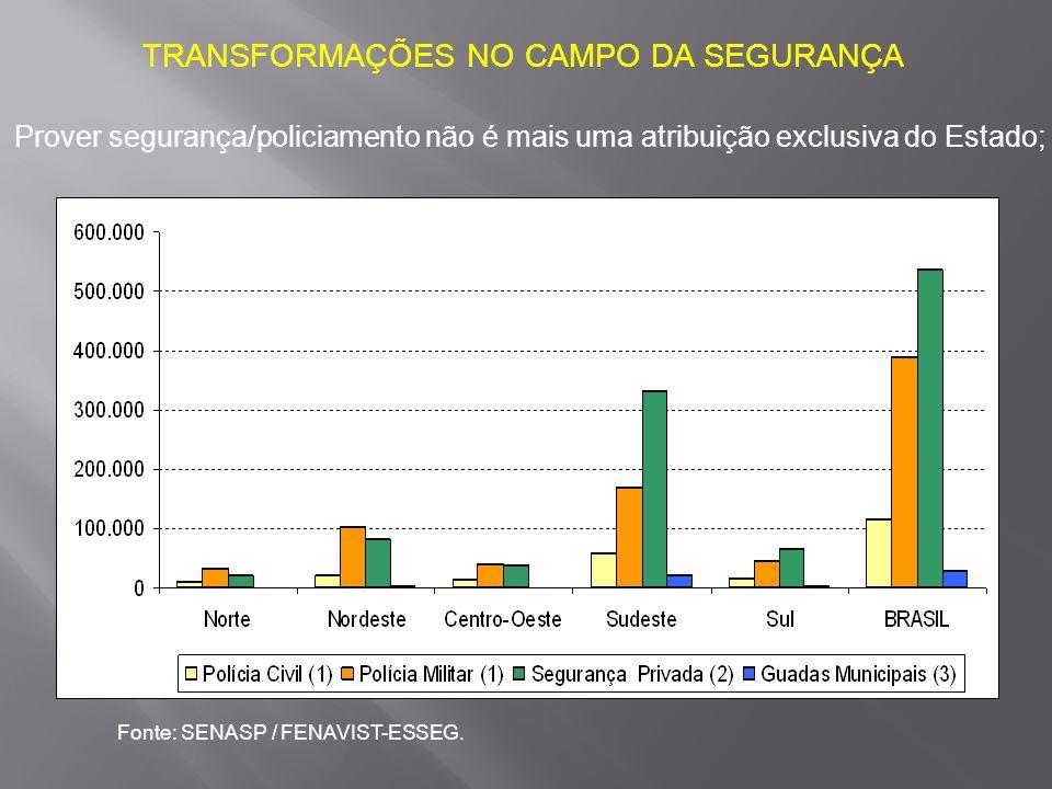 TRANSFORMAÇÕES NO CAMPO DA SEGURANÇA