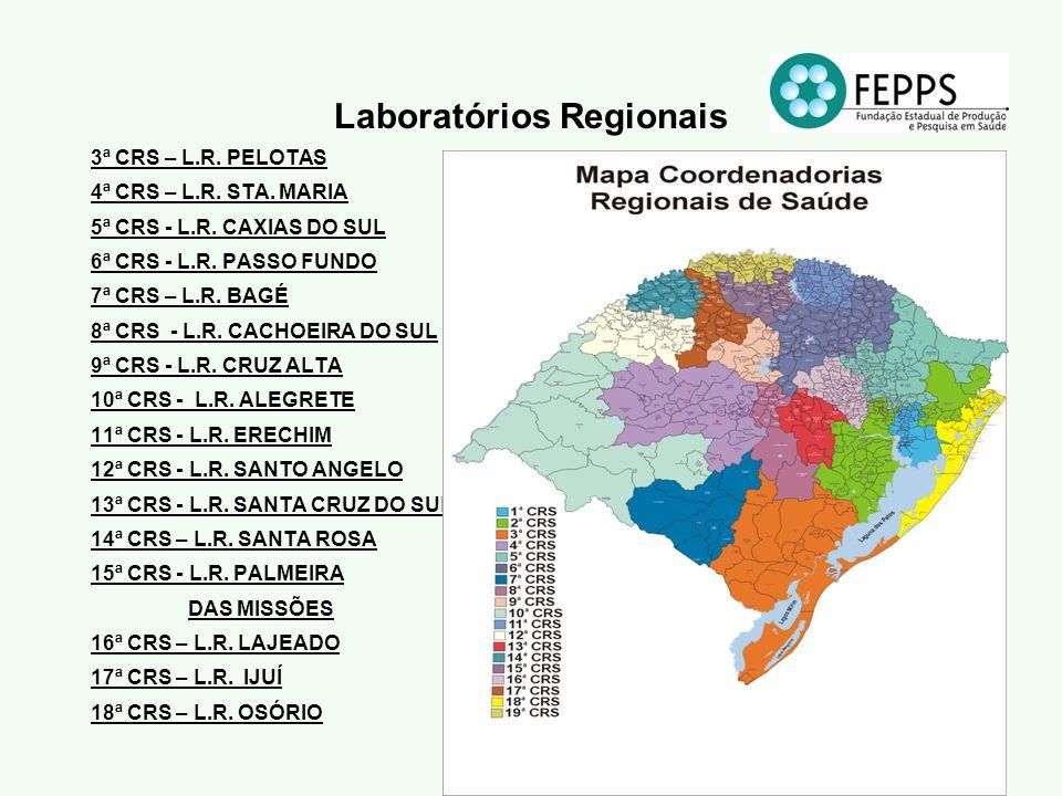 Laboratórios Regionais