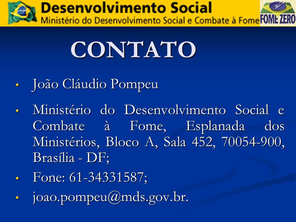 CONTATO João Cláudio Pompeu