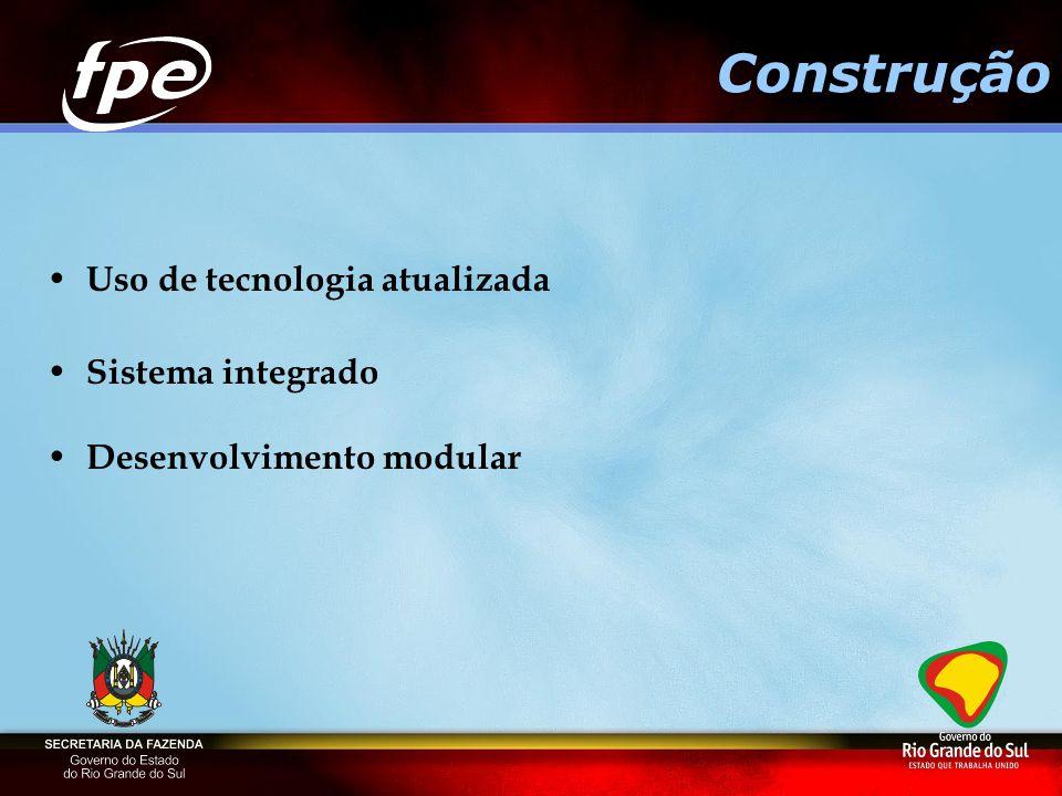 Construção Uso de tecnologia atualizada Sistema integrado