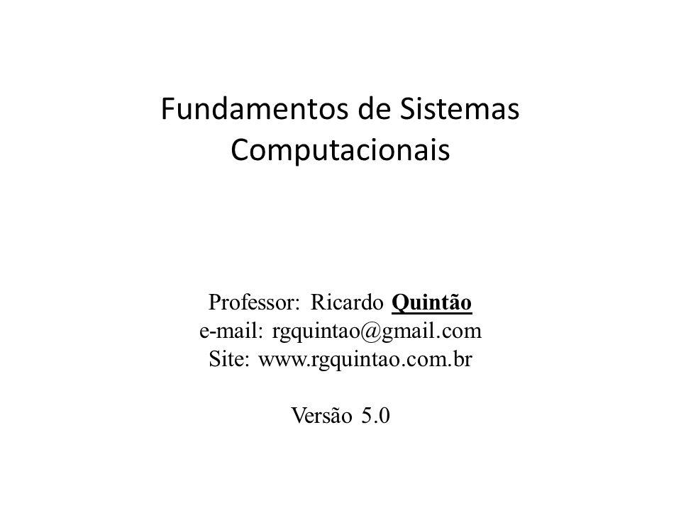 Fundamentos de Sistemas Computacionais