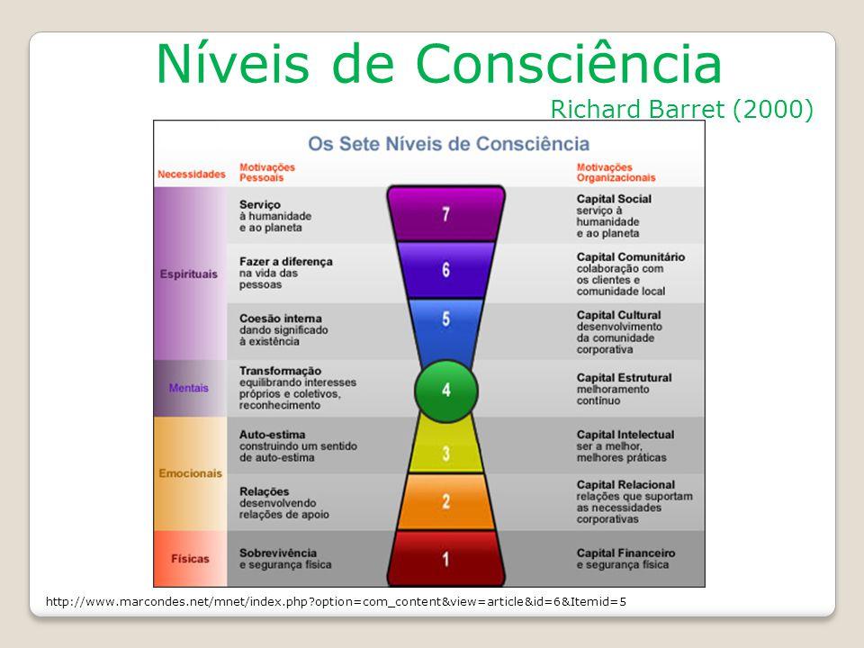 Níveis de Consciência Richard Barret (2000)