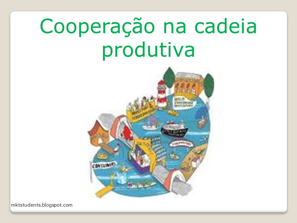 Cooperação na cadeia produtiva
