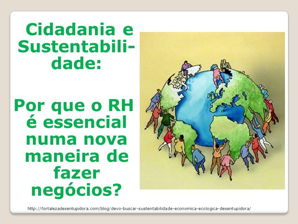 Cidadania e Sustentabili-dade: