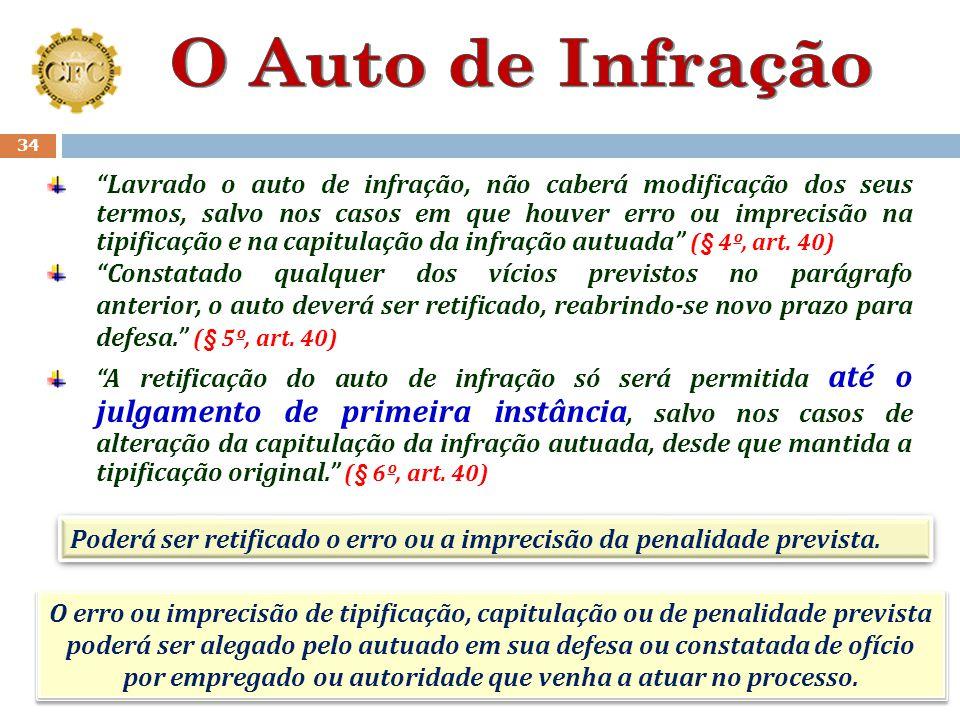 O Auto de Infração