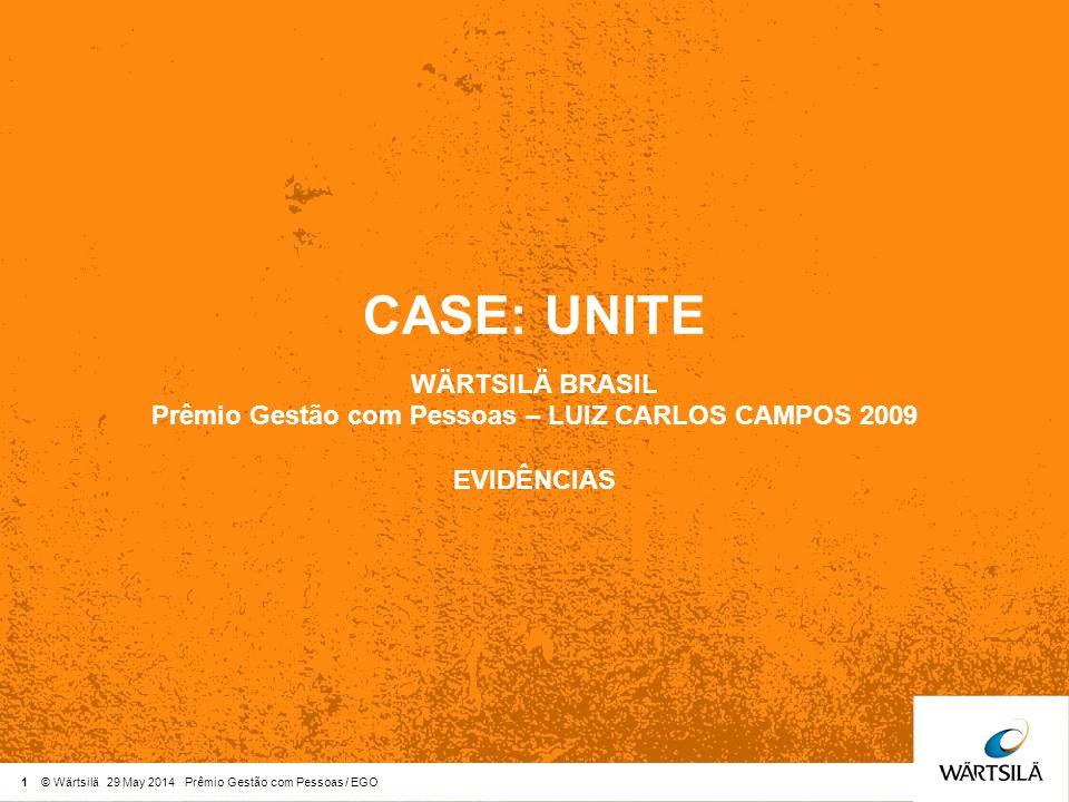 Prêmio Gestão com Pessoas – LUIZ CARLOS CAMPOS 2009