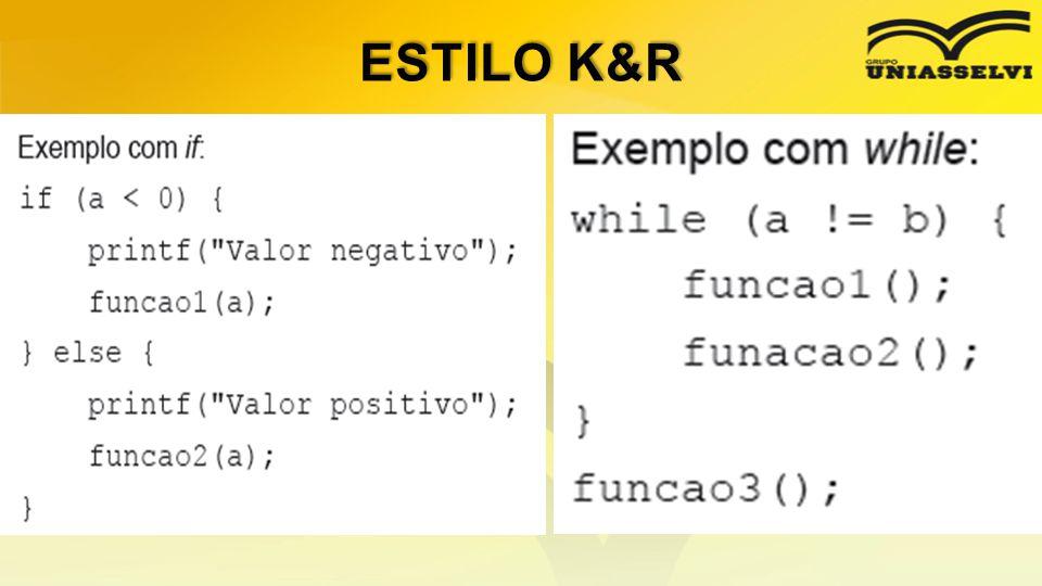 ESTILO K&R