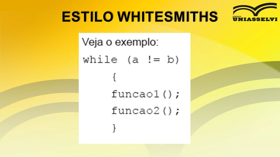 ESTILO WHITESMITHS