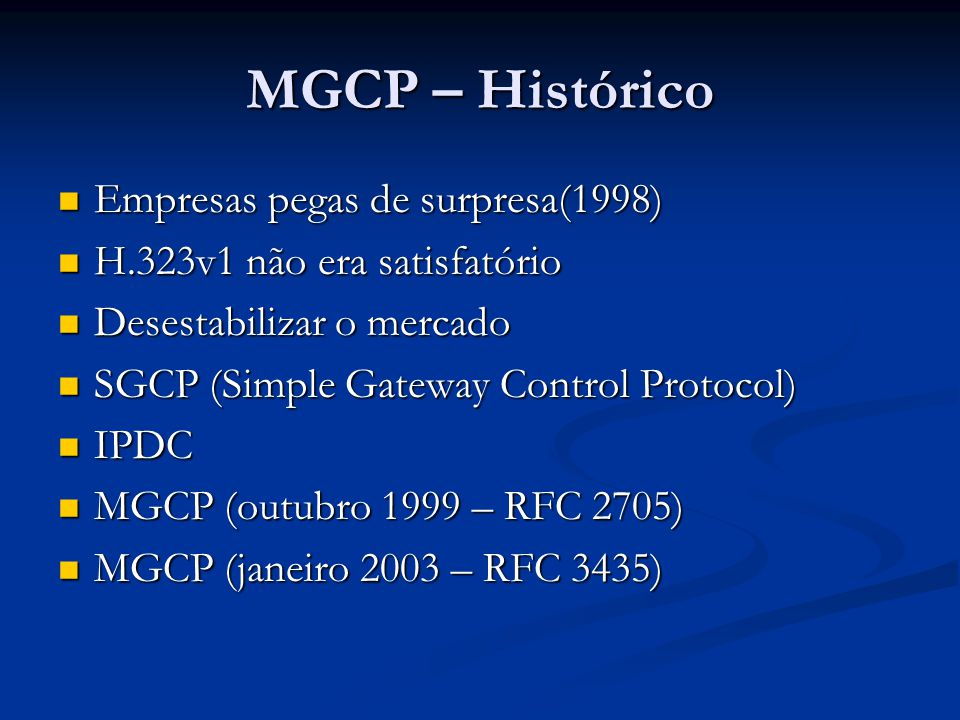MGCP – Histórico Empresas pegas de surpresa(1998)
