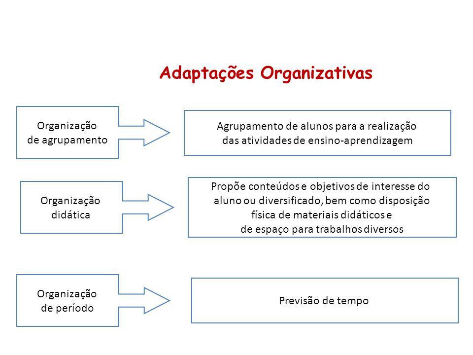 Adaptações Organizativas