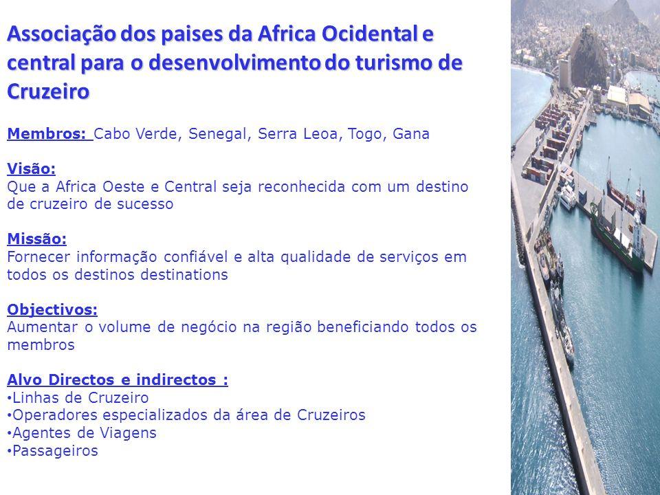 Associação dos paises da Africa Ocidental e central para o desenvolvimento do turismo de Cruzeiro