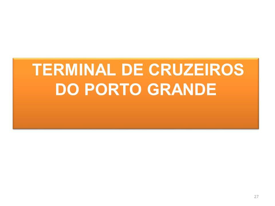 TERMINAL DE CRUZEIROS DO PORTO GRANDE