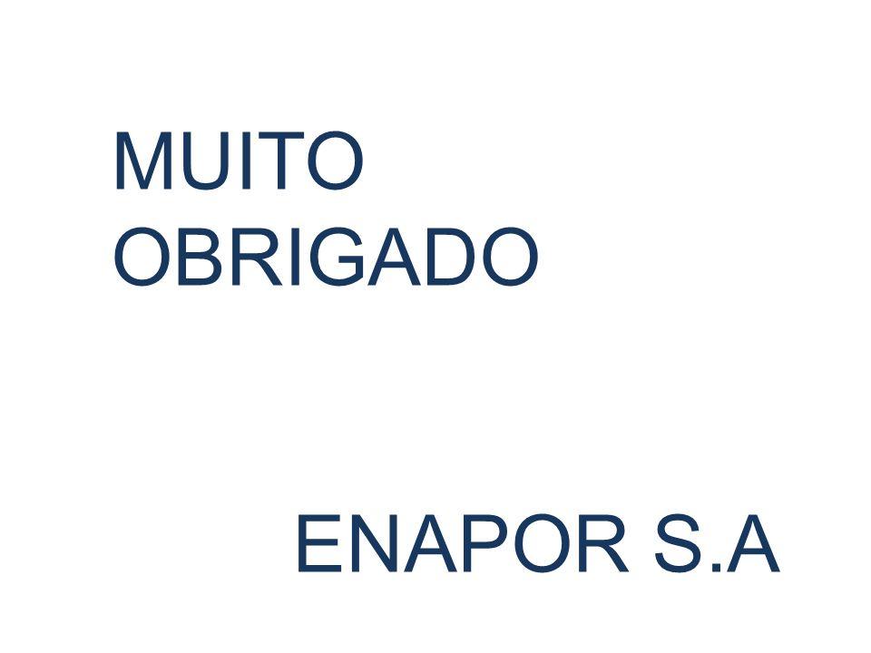 MUITO OBRIGADO ENAPOR S.A