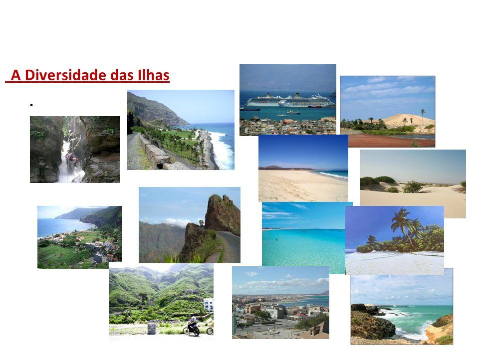 A Diversidade das Ilhas