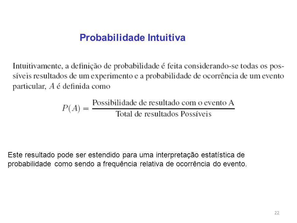 Probabilidade Intuitiva