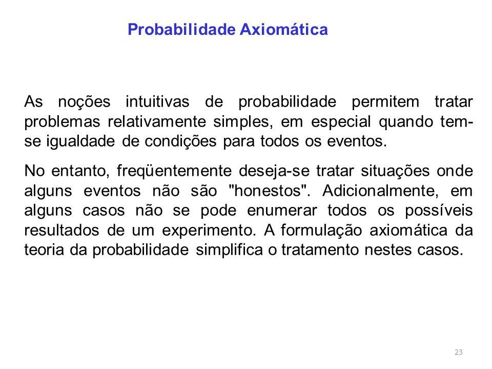 Probabilidade Axiomática