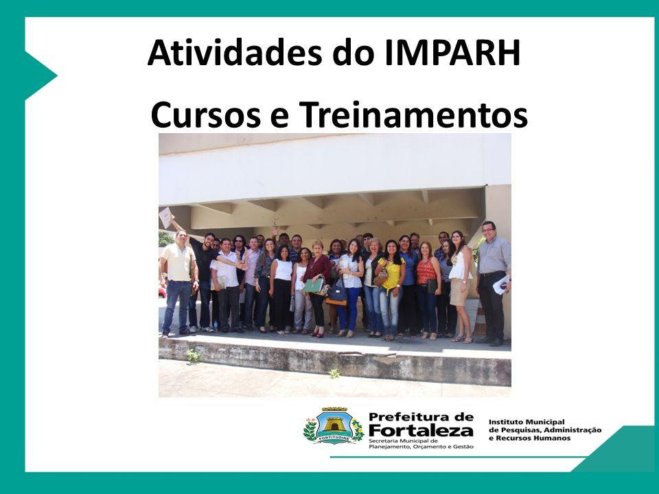 Atividades do IMPARH Cursos e Treinamentos