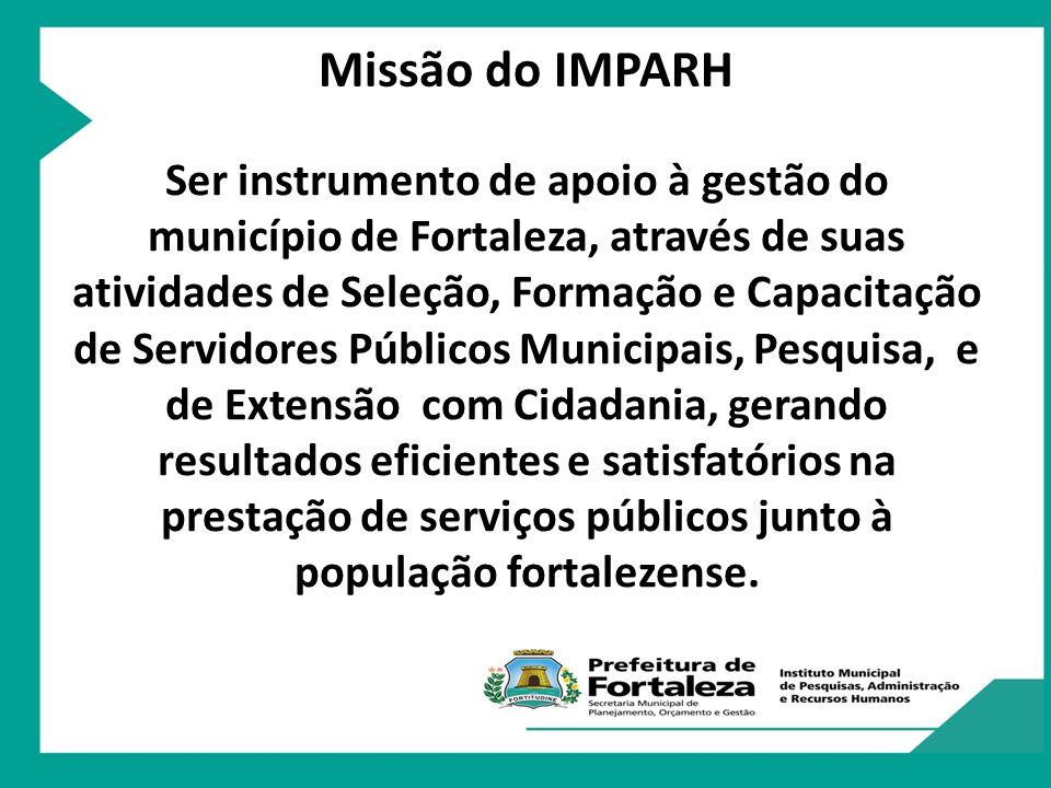 Missão do IMPARH