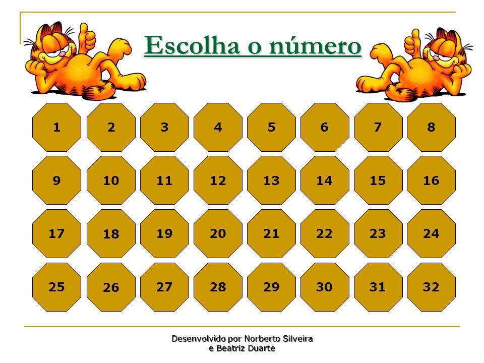 Desenvolvido por Norberto Silveira e Beatriz Duarte
