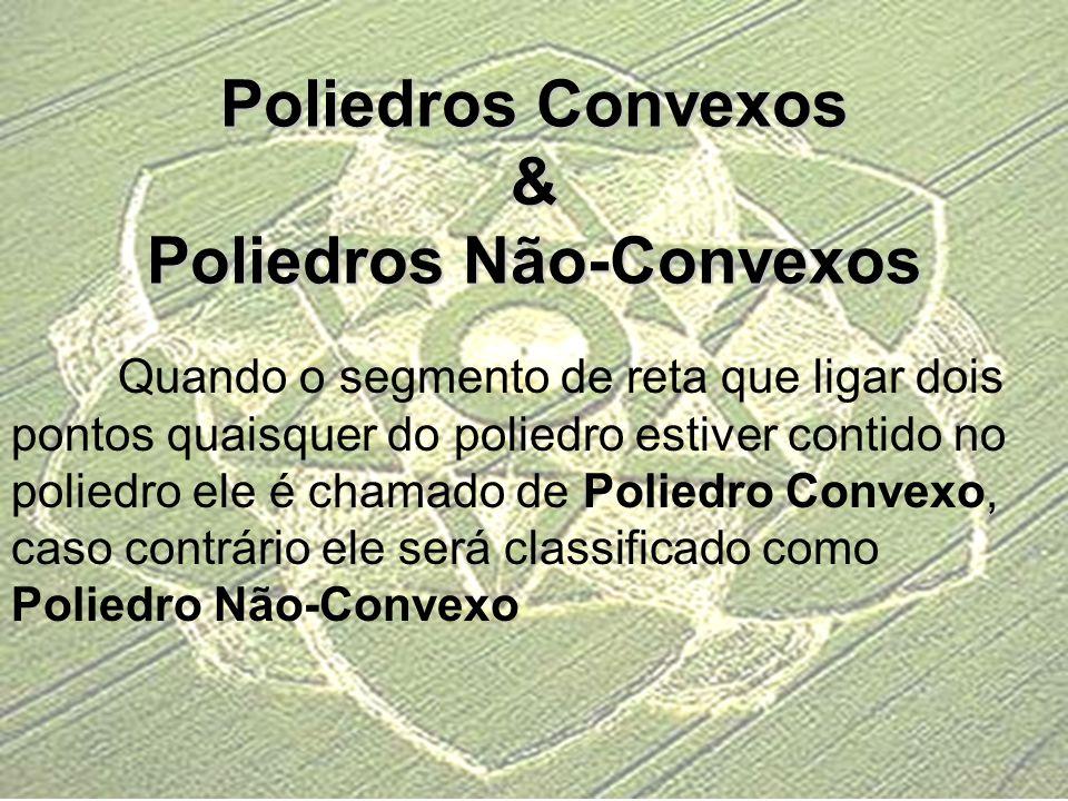 Poliedros Convexos & Poliedros Não-Convexos