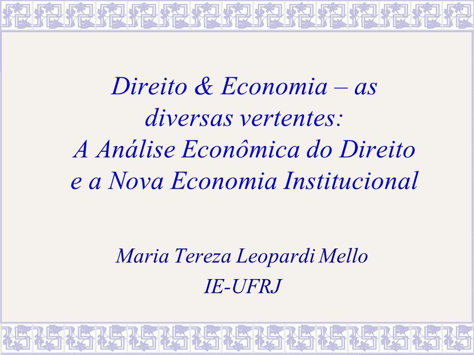 Maria Tereza Leopardi Mello IE-UFRJ