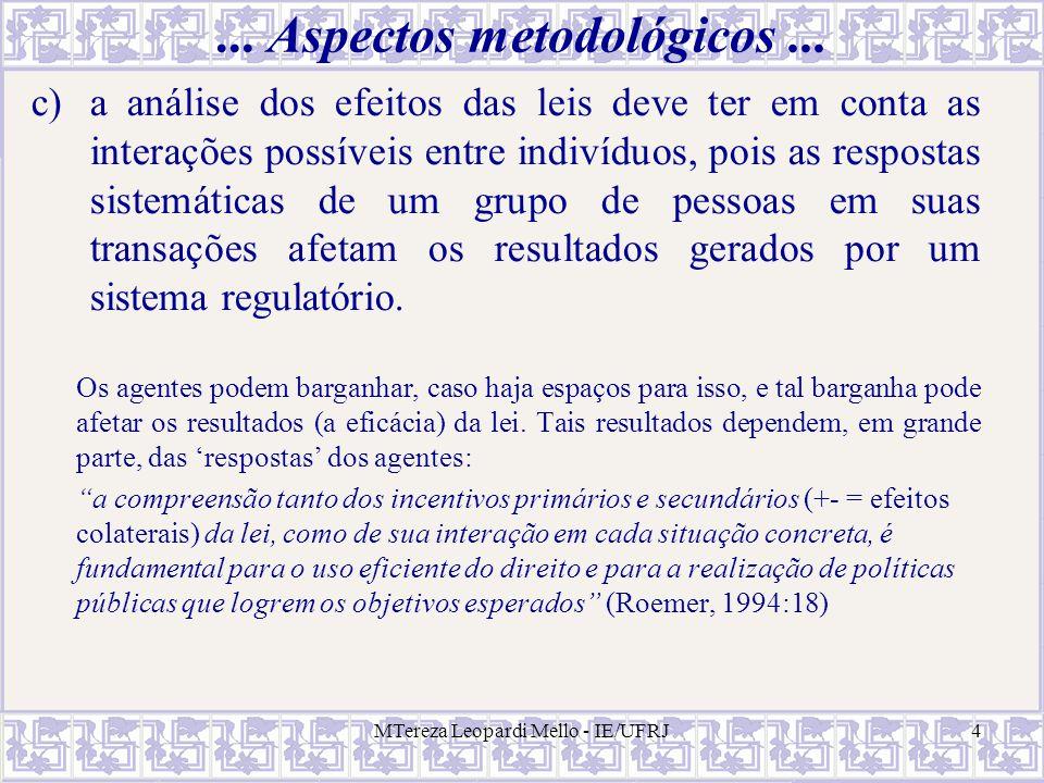 ... Aspectos metodológicos ...