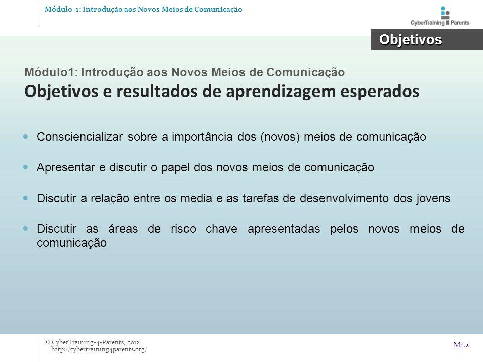 Módulo 1: Introdução aos Novos Meios de Comunicação