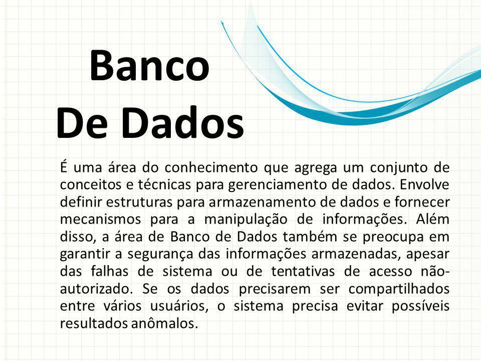 Banco De Dados.