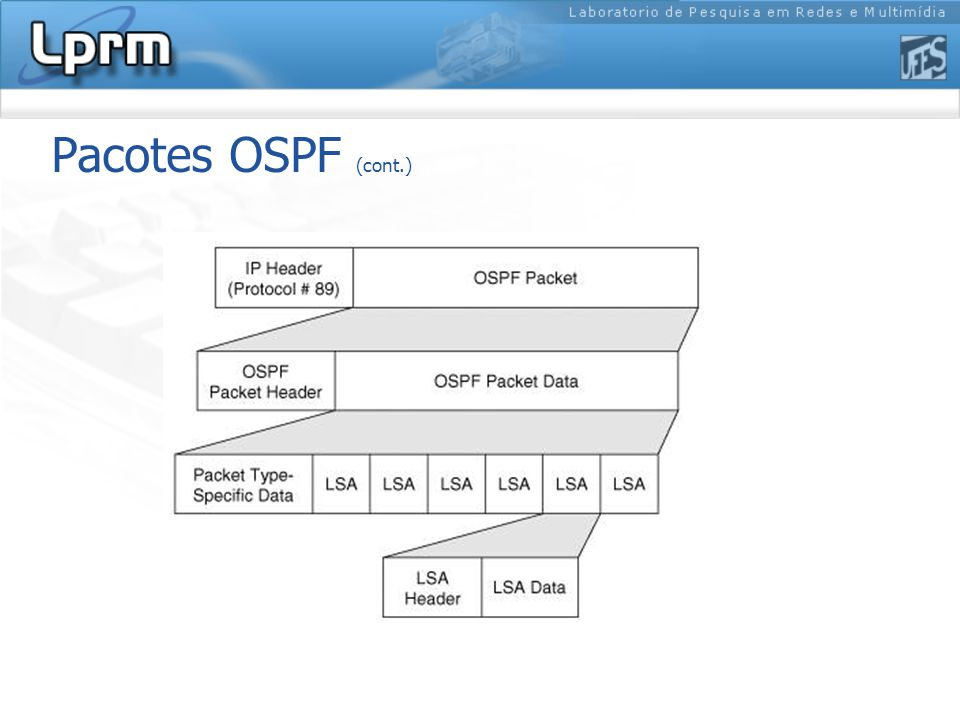 Pacotes OSPF (cont.)