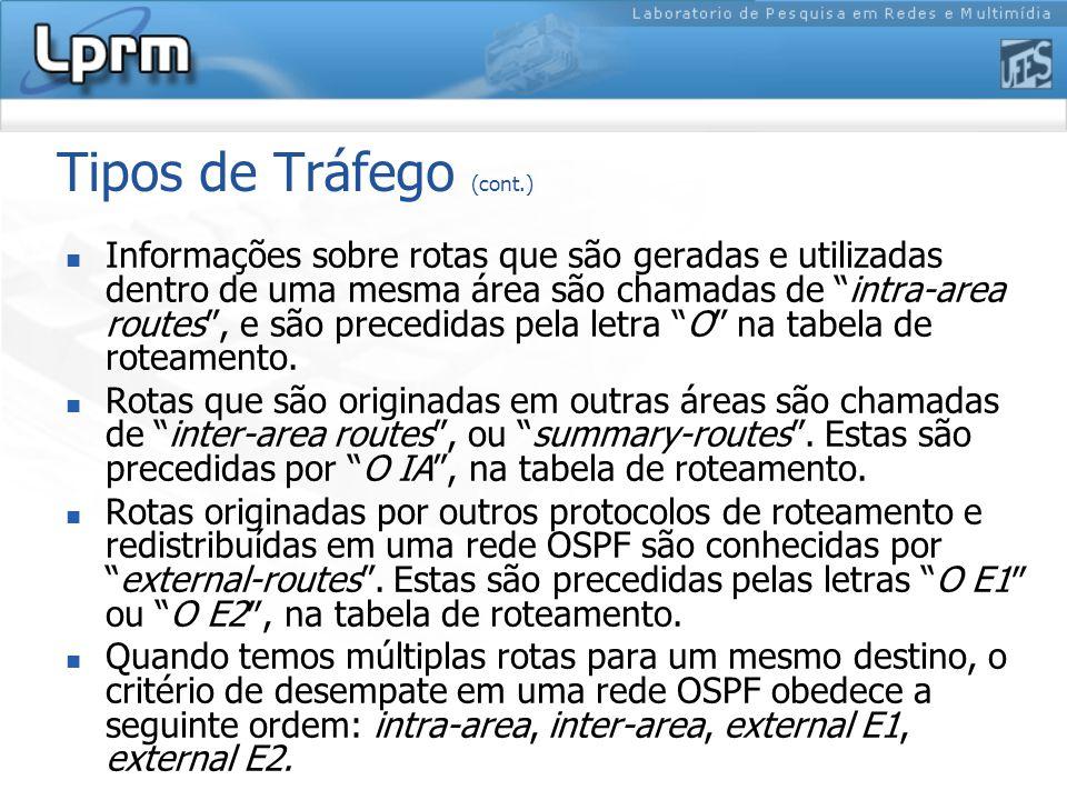 Tipos de Tráfego (cont.)