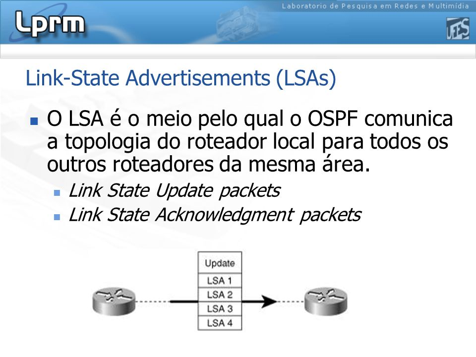 Link-State Advertisements (LSAs)