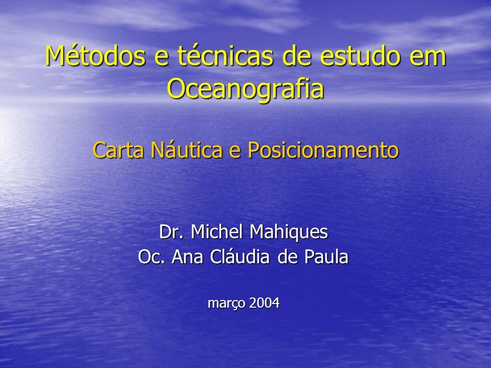 Dr. Michel Mahiques Oc. Ana Cláudia de Paula março 2004