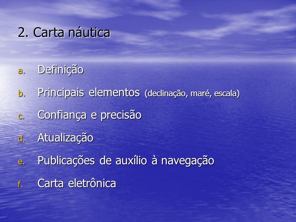 2. Carta náutica Definição
