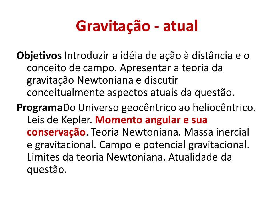 Gravitação - atual