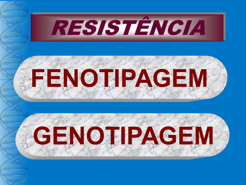 FENOTIPAGEM GENOTIPAGEM