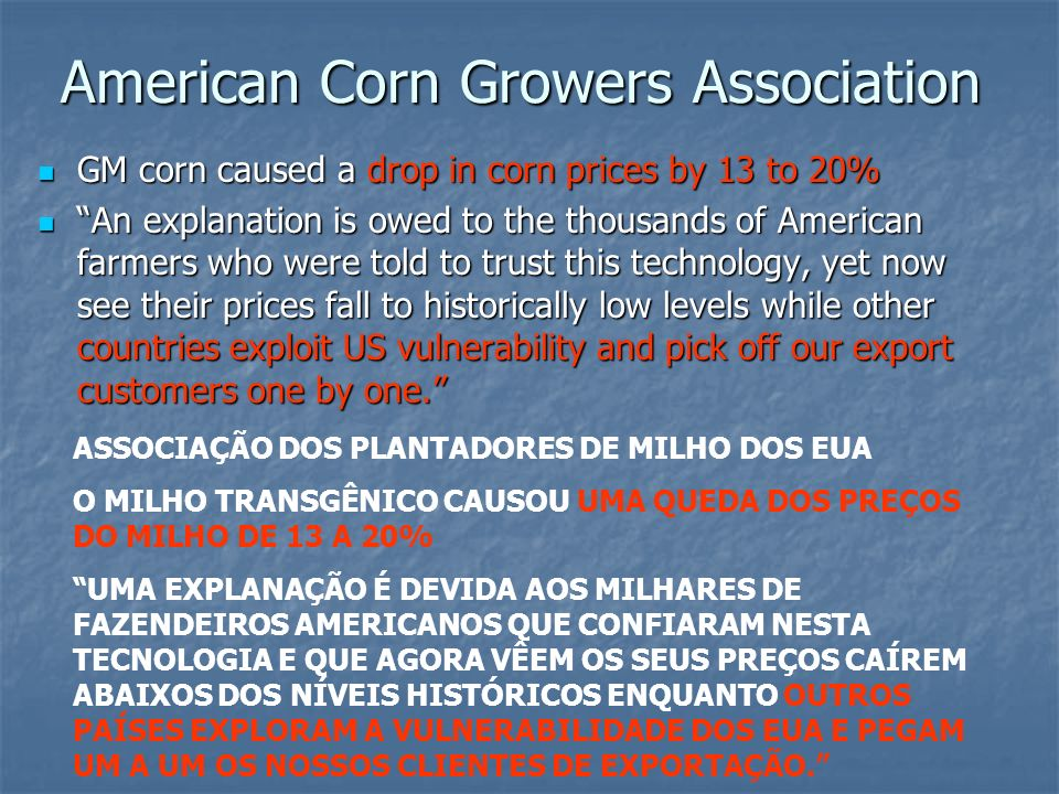 American Corn Growers Association