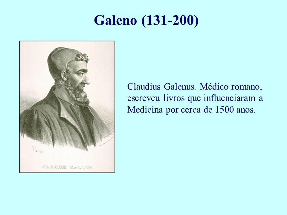 Galeno (131-200) Claudius Galenus.