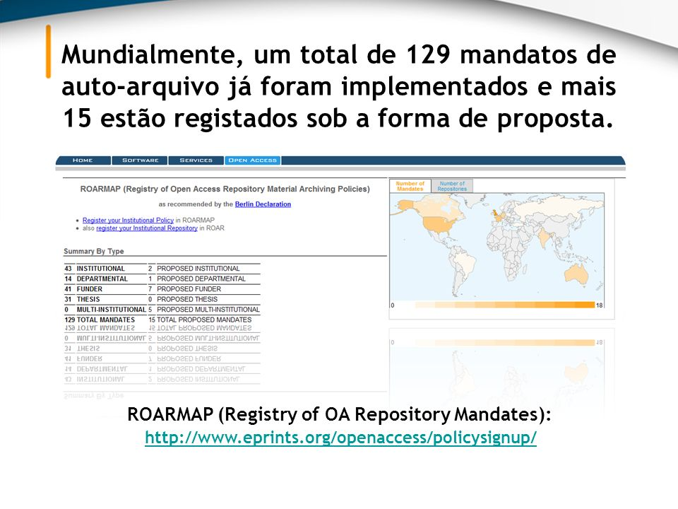 ROARMAP (Registry of OA Repository Mandates):