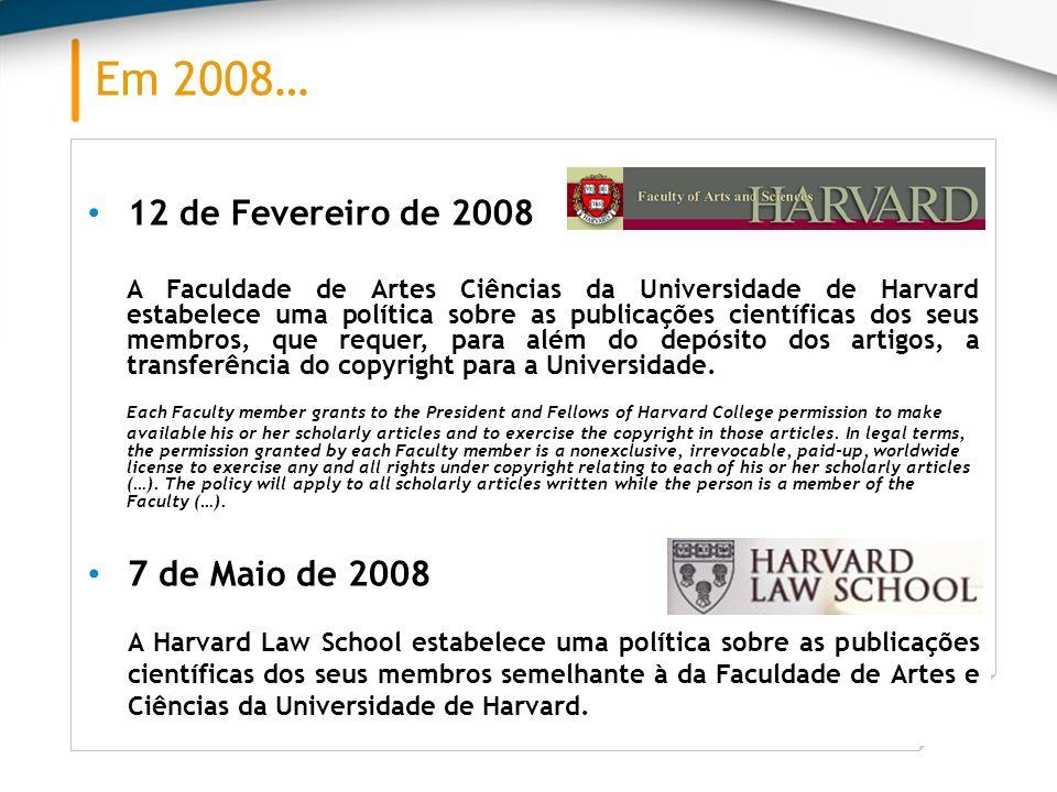 Em 2008… 12 de Fevereiro de 2008.