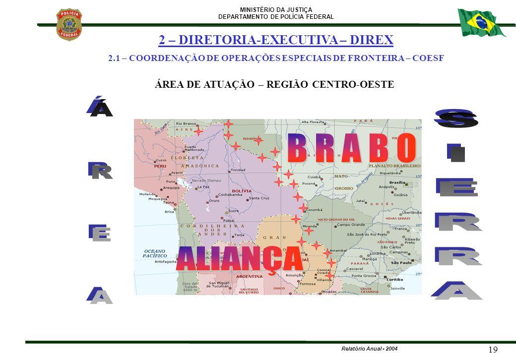 B R A B O Á R E A SIERRA ALIANÇA 2 – DIRETORIA-EXECUTIVA – DIREX