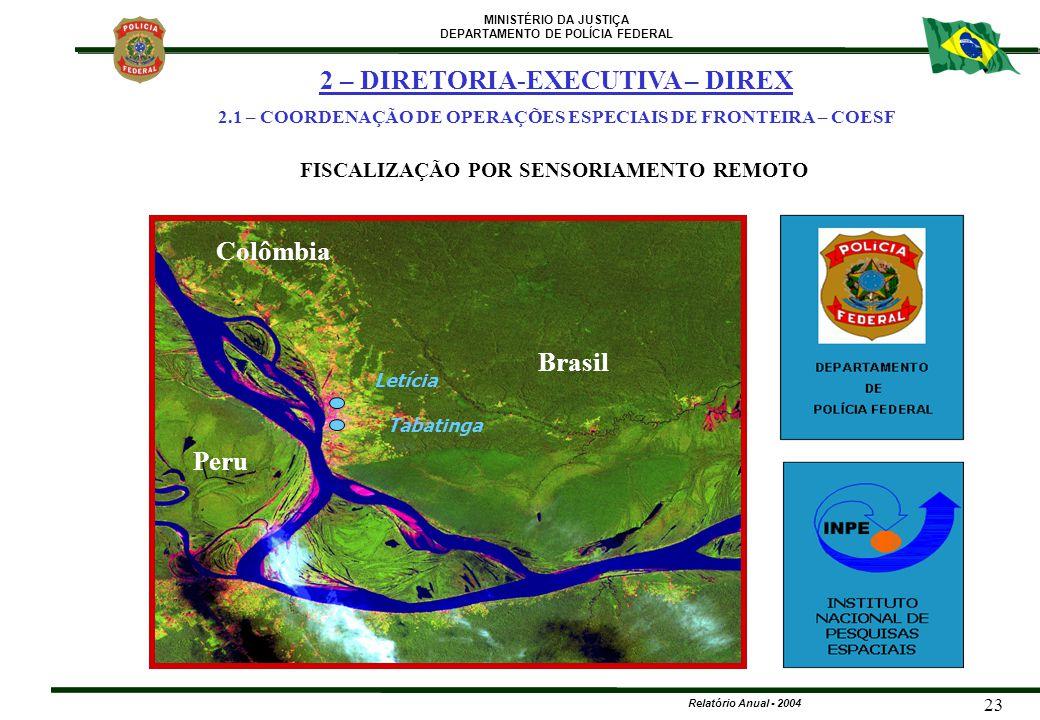 2 – DIRETORIA-EXECUTIVA – DIREX Colômbia Peru Brasil