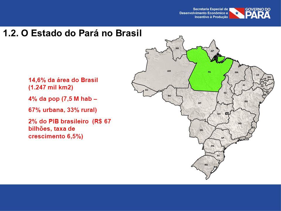 1.2. O Estado do Pará no Brasil