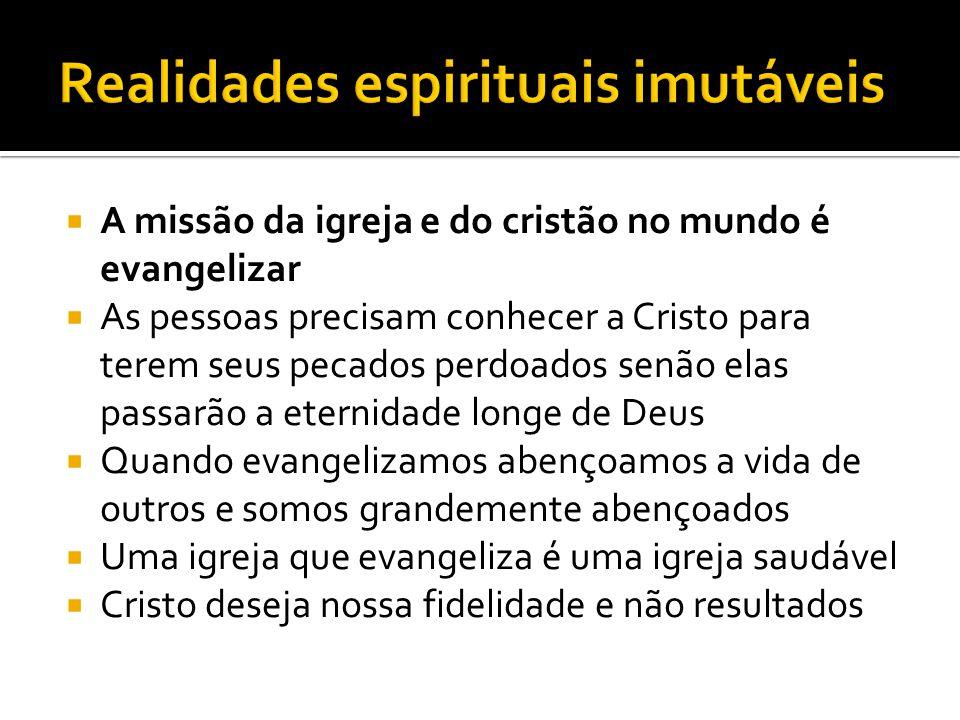 Realidades espirituais imutáveis