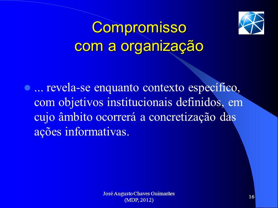Compromisso com a organização