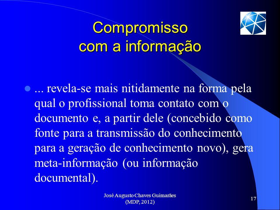 Compromisso com a informação