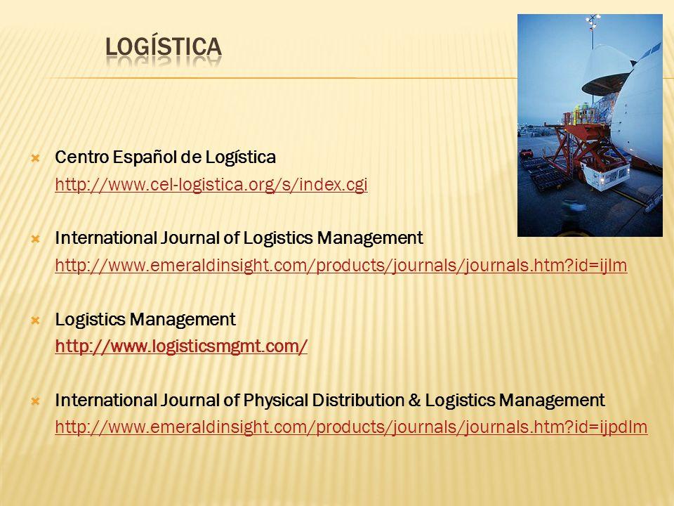 LOGÍSTICA Centro Español de Logística