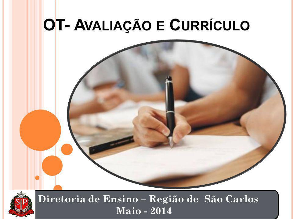 OT- Avaliação e Currículo