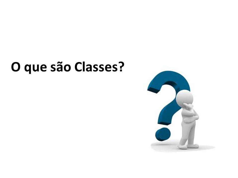 O que são Classes